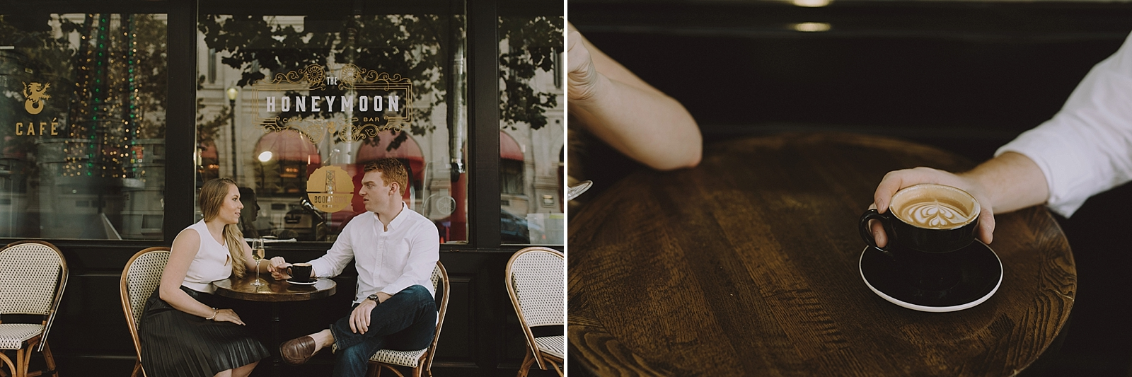 Downtown Houston Engagement Session - 013