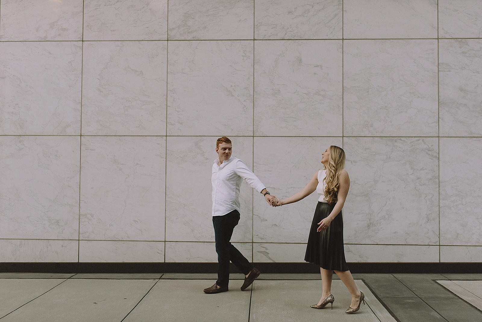 Downtown Houston Engagement Session - 018