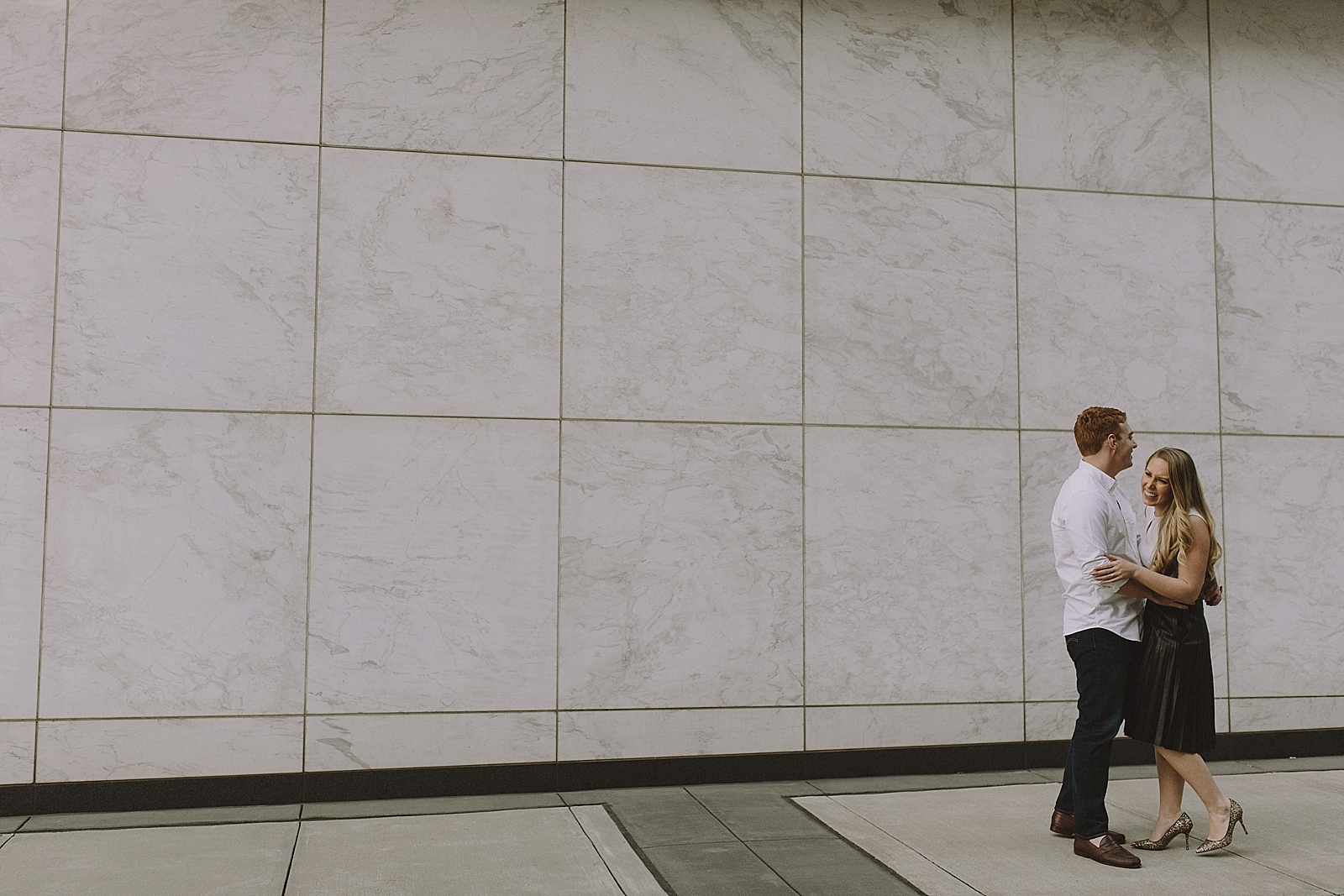 Downtown Houston Engagement Session - 020