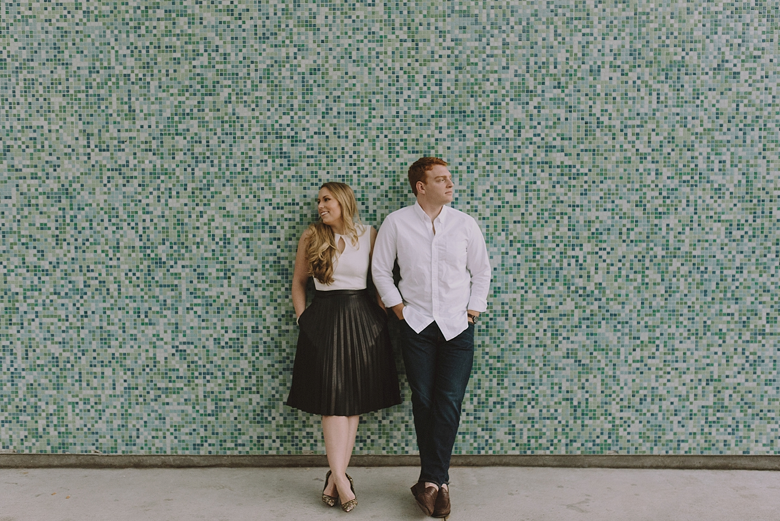 Downtown Houston Engagement Session - 022