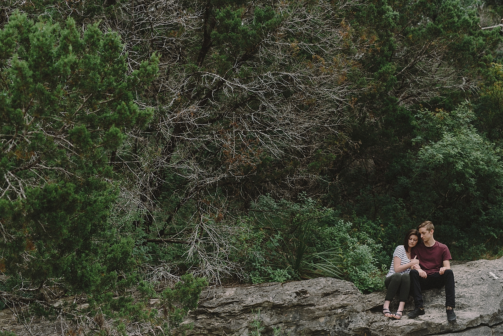 Pedernales Falls Engagement Session - 0001