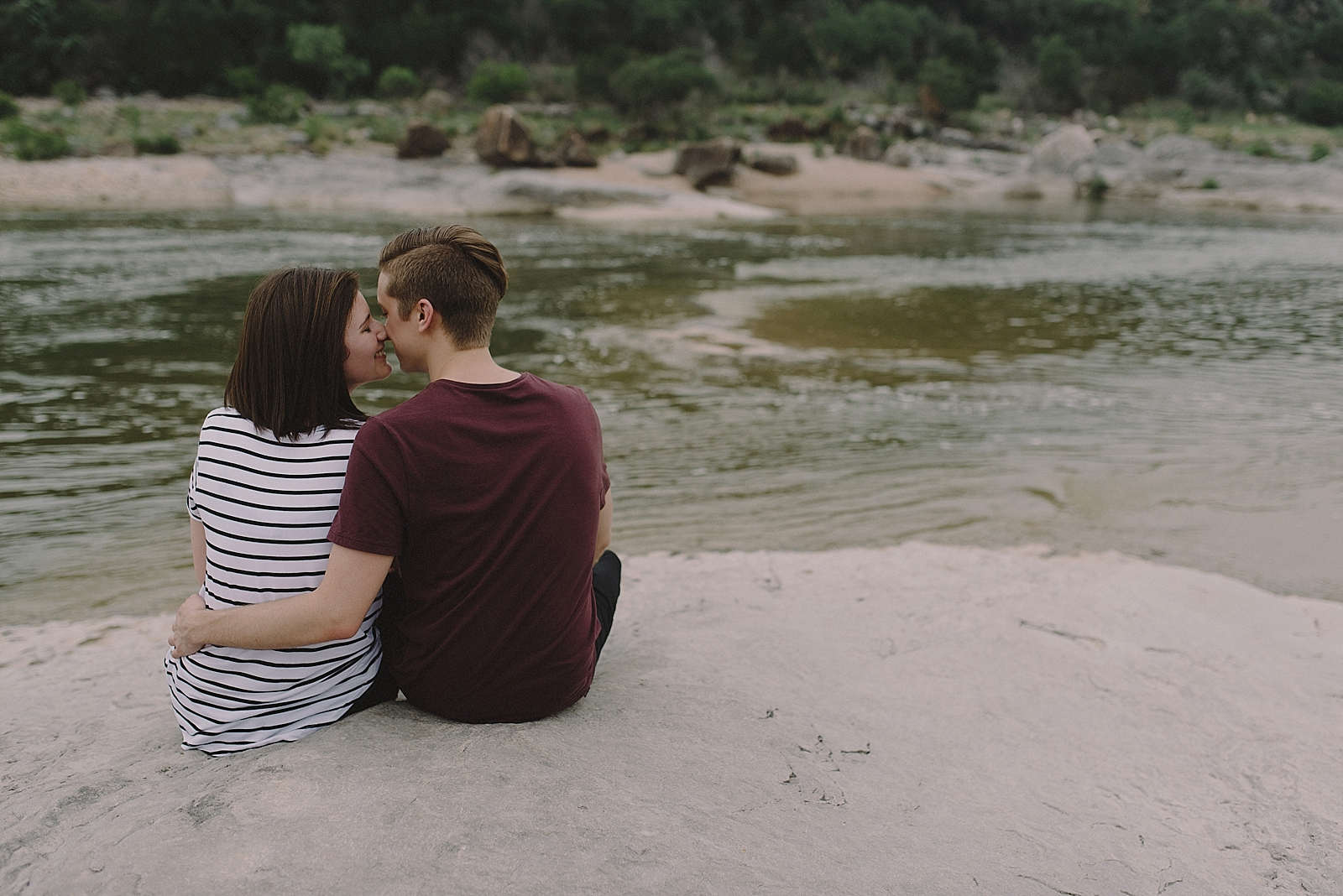 Pedernales Falls Engagement Session - 0004
