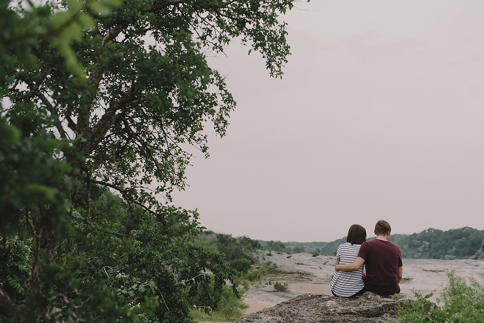 Pedernales Falls Engagement Session - 0007