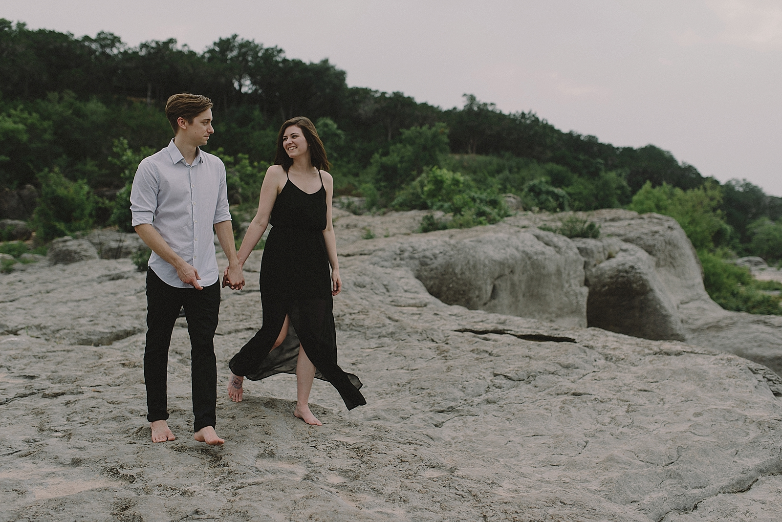 Pedernales Falls Engagement Session - 0010