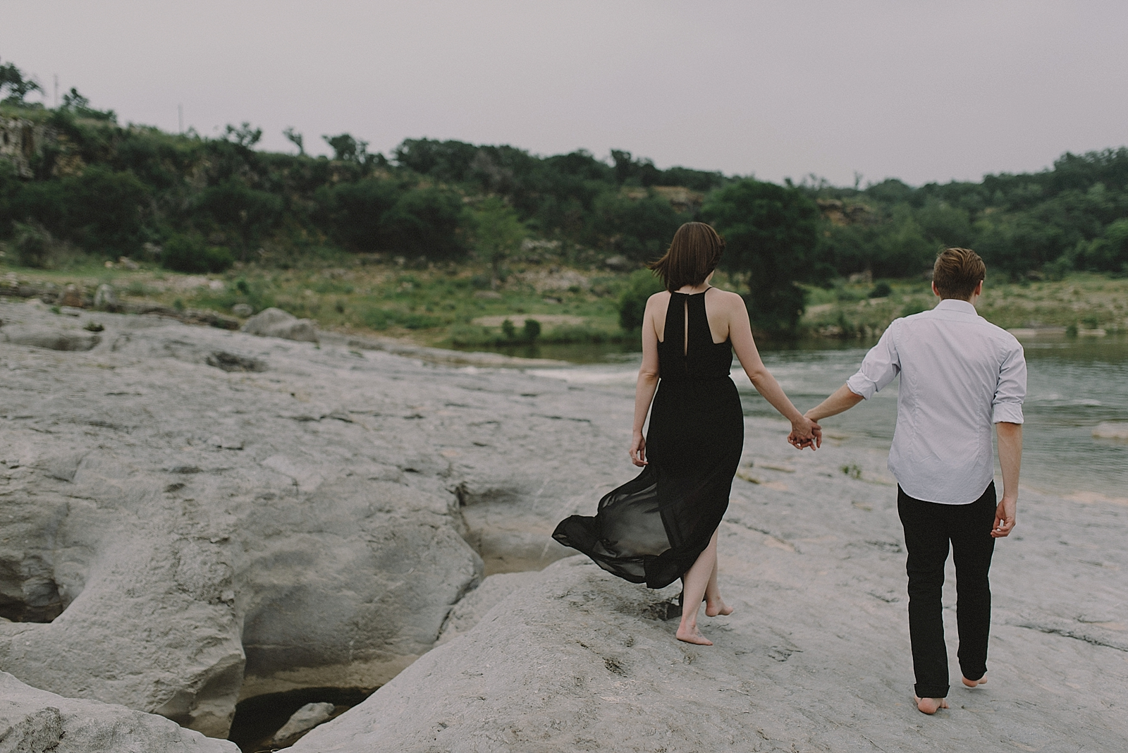 Pedernales Falls Engagement Session - 0011