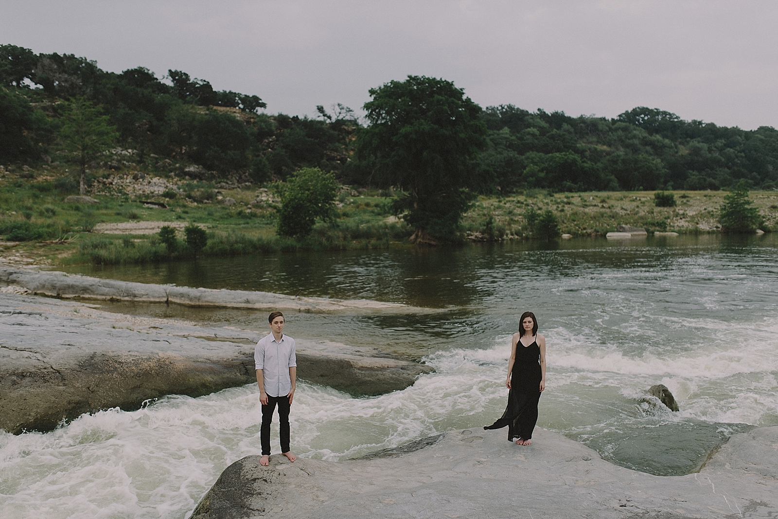 Pedernales Falls Engagement Session - 0020