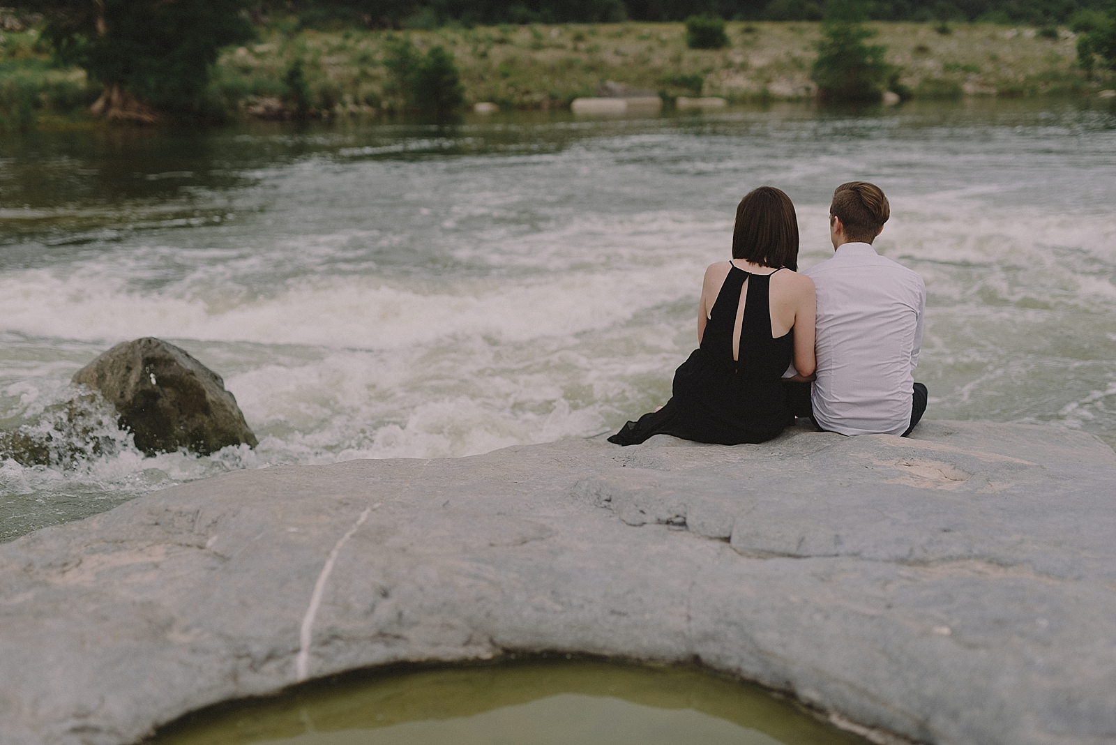 Pedernales Falls Engagement Session - 0022