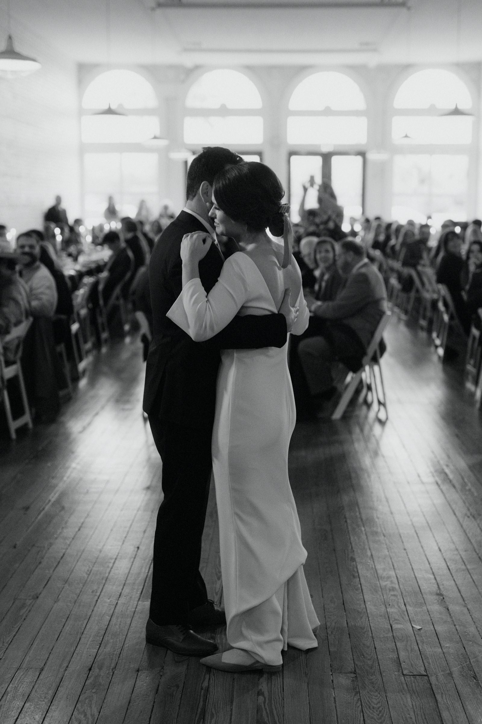 First dance entrance at One Eleven East in Austin